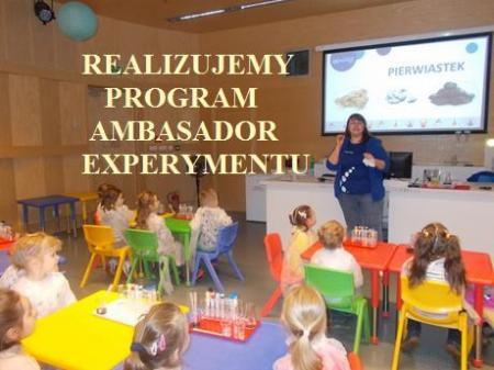 AMBASADOR EXPERYMENTU - PROŚBA