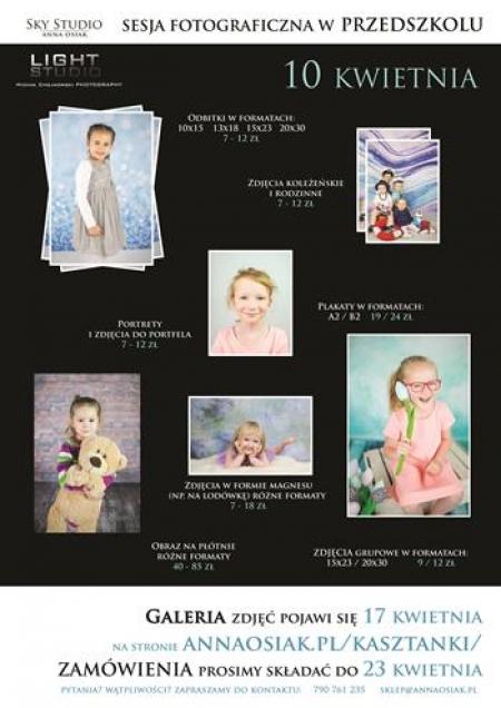 10 KWIETNIA- LIGHT STUDIO- list do Rodziców