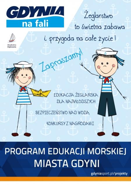 Uczestniczymy w Programie Edukacji Morskiej Miasta Gdyni- Gdynia na fali