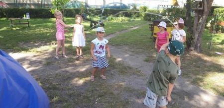 Sierpień w przedszkolnym ogrodzie