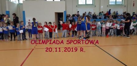 MINI-OLIMPIADA PRZEDSZKOLAKA 2019/2020