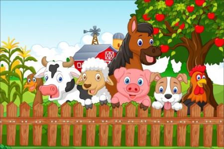 DZIŚ NA FARMIE WAS WITAMY I ZWIERZĘTA PRZEDSTAWIAMY