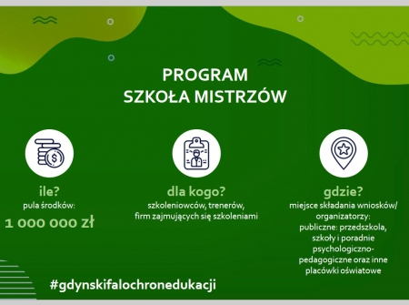 Program SZKOŁA MISTRZÓW w naszym przedszkolu