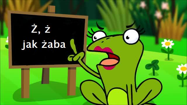 Ż, ż jak żaba