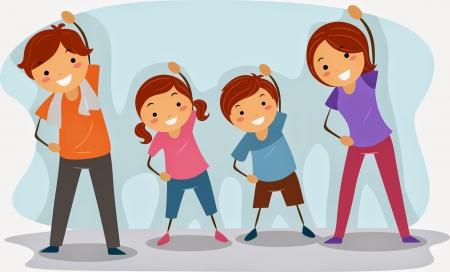 Gimnastyka dla rodziców i dzieci